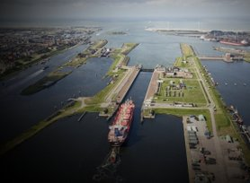 The locks at IJmuiden